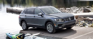The 2019 Volkswagen Tiguan Trendline in detail
