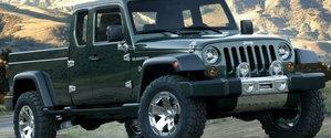 Un Jeep Wrangler décliné en pick-up !