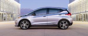 La toute électrique Chevrolet Bolt EV 2017