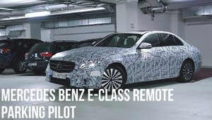 Une nouvelle application permet de stationner sa Mercedes-Benz à distance