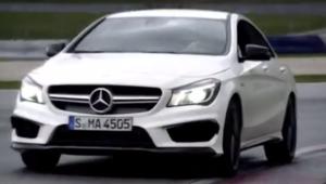 La nouvelle Mercedes-Benz CLA 2014