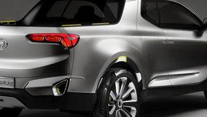 La camionnette « Santa Cruz » de Hyundai en route vers la production