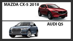 Mazda CX-5 2018 versus Audi Q5