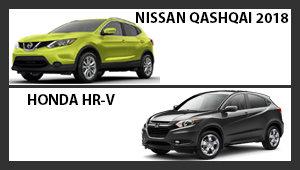 Nissan Qashqai 2018 versus Honda HR-V