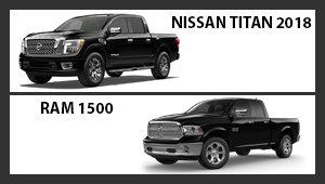 Nissan Titan 2018 versus Ram 1500