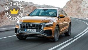 Les Audi Q7 et Q8 : Meilleur VUS intermédiaire de luxe 2019 par le Guide de l'auto