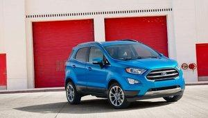 Le Ford Ecosport 2018 est arrivé !