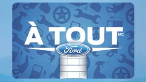 Carte à tout Ford
