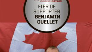 Support Benjamin Ouellet