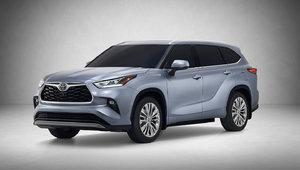 Le nouveau Toyota Highlander 2020 présenté au Salon de l'auto de New York