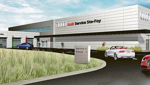 Tout sur la nouvelle concession Audi Ste-Foy : Agrandissement, services et autos!