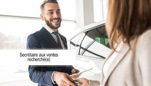 À la recherche d'un(e) secrétaire aux ventes