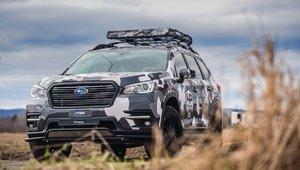 Projet Subaru Ascent - LP Aventure