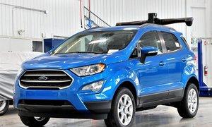 2018 Ford EcoSport SE 4WD 2.0L