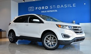 2015 Ford Edge TITANIUM AWD+DVD+TOIT PANO+GPS!