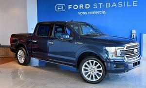 2018 Ford F150 Limited / 4X4 / 3.5L / WOW !!