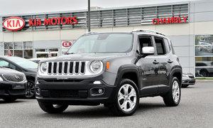 Jeep Renegade Limited**Cuir**Navigation** 2016
