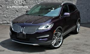 2015 Lincoln MKC AWD Ecoboost, toit pano, caméra de recul, cuir +