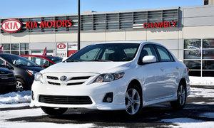 Toyota Corolla S SPORT *TOUTE ÉQUIPÉ* **ECRAN 7POUCES** 2013