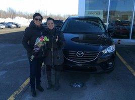 Heureux nouveaux propriétaires!!! de Prestige Mazda à Shawinigan