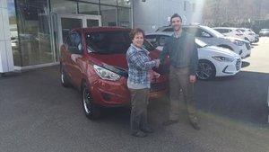 La madame est ben contente de Hyundai Shawinigan à Shawinigan