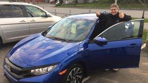 2e achat avec notre représentant de Avantage Honda à Shawinigan