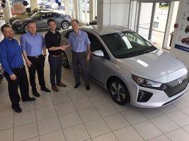 1ere IONIQ 100% en Mauricie! de Hyundai Trois-Rivières à Trois-Rivières