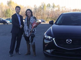 Première voiture neuve! de Prestige Mazda à Shawinigan
