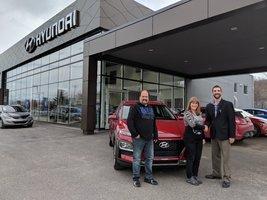 Merci Hugo pour l'excellent service! de Hyundai Shawinigan à Shawinigan