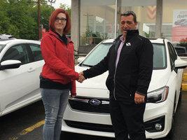 Félicitations Mme McKie! de Avantage Honda à Shawinigan
