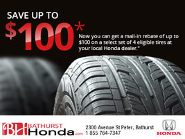 Tire Mail-In Rebate