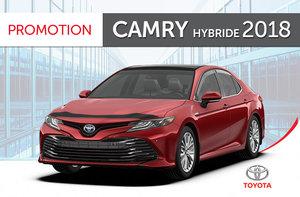 Camry hybride XLE 2018