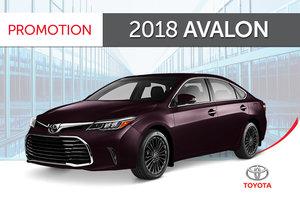 2018 Avalon Touring 6A