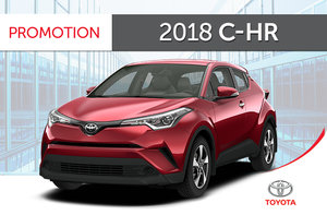2018 C-HR XLE
