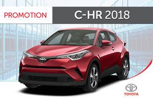 C-HR XLE 2018