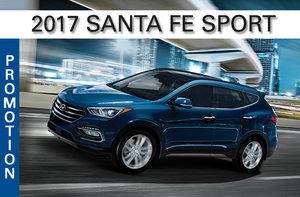 2017 Santa Fe Sport 2.4L
