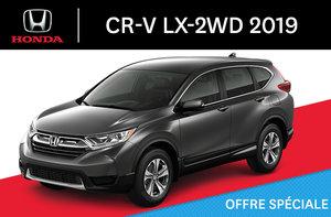 Honda CR-V LX-2WD C-CVT 2019