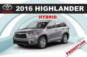 2016 Highlander Hybrid