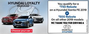 Hyundai Loyalty Program