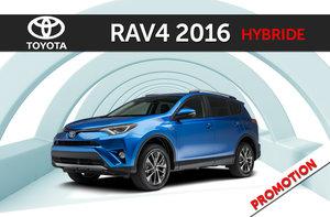 RAV4 hybride XLE 2016