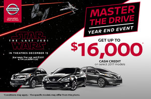 Nissan's Monthly Sales Event