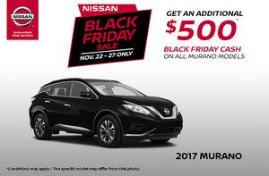 Black Friday - 2017 Nissan Murano