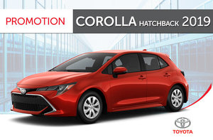 Corolla Hatchback XSE CVT 2019