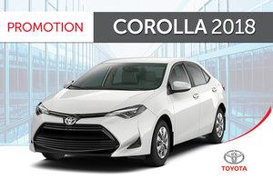 Toyota Corolla CE 6M 2018