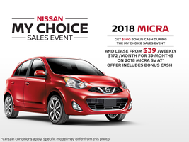 The new 2018 Nissan Micra