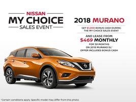 The new 2018 Nissan Murano!