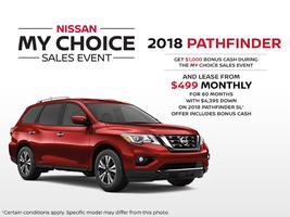 The new 2018 Nissan Pathfinder!