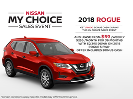 The new 2018 Nissan Rogue!