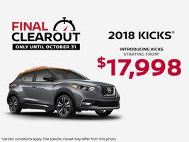 Introducing the Kicks!