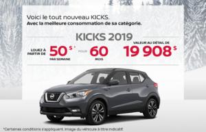 Le tout nouveau Nissan Kicks 2019